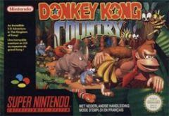 Jaquette de Donkey Kong Country Super NES