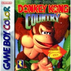 Jaquette de Donkey Kong Country Game Boy Color