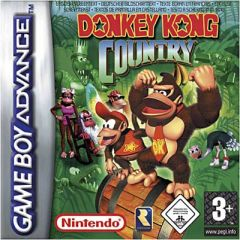 Jaquette de Donkey Kong Country Game Boy Advance