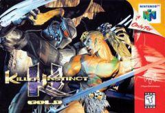 Jaquette de Killer Instinct Gold Nintendo 64