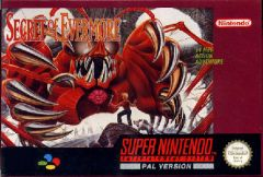 Jaquette de Secret of Evermore Super NES