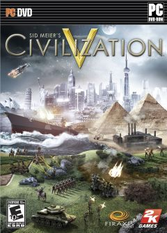 Jaquette de Sid Meier's Civilization V PC