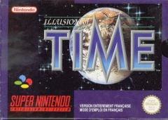 Jaquette de Illusion of Time Super NES