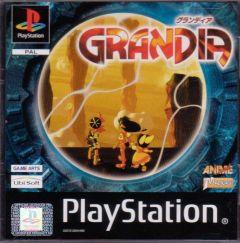 Jaquette de Grandia PlayStation