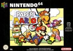 Jaquette de Paper Mario Nintendo 64