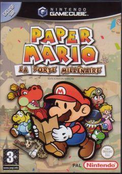 Jaquette de Paper Mario : La Porte Millénaire GameCube