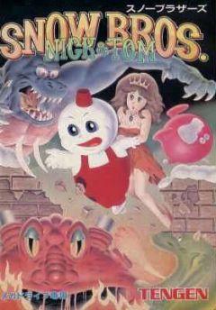 Jaquette de Snow Brothers Mega Drive