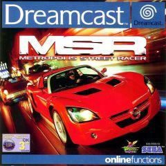 Jaquette de Metropolis Street Racer Dreamcast