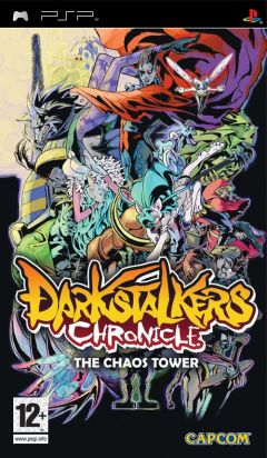 Jaquette de Darkstalkers Chronicle : The Chaos Tower PSP