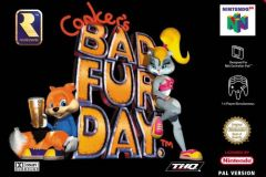 Jaquette de Conker's Bad Fur Day Nintendo 64