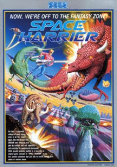 Jaquette de Space Harrier Arcade