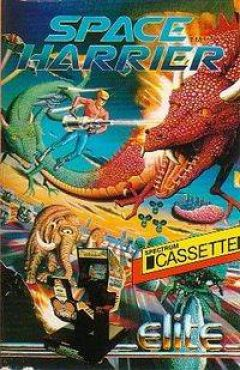 Jaquette de Space Harrier ZX Spectrum