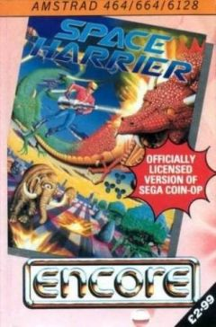 Jaquette de Space Harrier Amstrad CPC