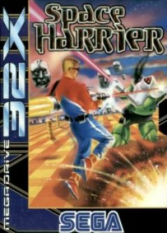 Jaquette de Space Harrier Megadrive 32X