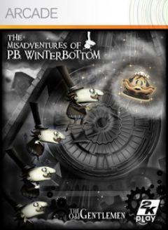 Jaquette de Les Mésaventures de P.B. Winterbottom Xbox 360