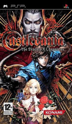Jaquette de Castlevania : The Dracula X Chronicles PSP