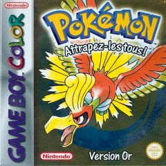 Jaquette de Pokémon Or Game Boy Color