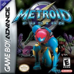 Jaquette de Metroid Fusion Game Boy Advance