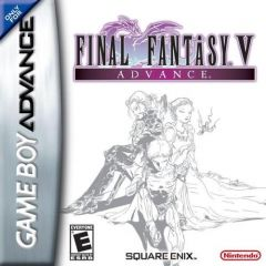 Jaquette de Final Fantasy V Advance Game Boy Advance