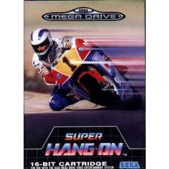 Jaquette de Super Hang-On Megadrive