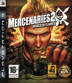 Jaquette de Mercenaries 2 : L'Enfer des Favelas PlayStation 3