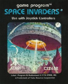 Jaquette de Space Invaders Atari 2600