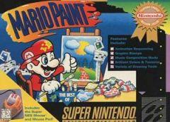 Jaquette de Mario Paint Super NES
