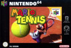 Jaquette de Mario Tennis Nintendo 64