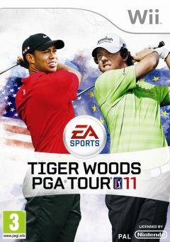 Jaquette de Tiger Woods PGA Tour 11 Wii