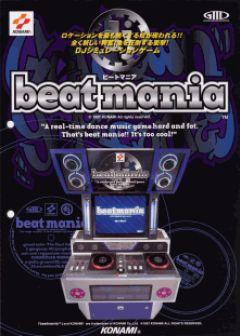 Jaquette de Beatmania Arcade