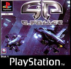 Jaquette de G-Police PlayStation