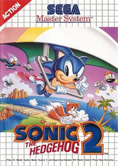 Jaquette de Sonic the Hedgehog 2 Master System