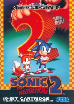 Jaquette de Sonic the Hedgehog 2 Megadrive