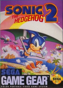 Jaquette de Sonic the Hedgehog 2 GameGear