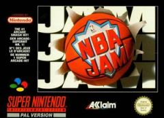 Jaquette de NBA Jam (original) Super NES