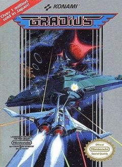 Jaquette de Gradius NES