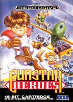 Jaquette de Gunstar Heroes Mega Drive