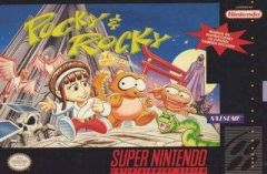 Jaquette de Pocky and Rocky Super NES