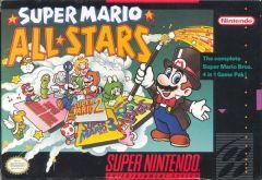 Jaquette de Super Mario All-Stars Super NES