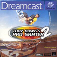 Jaquette de Tony Hawk's Pro Skater 2 Dreamcast