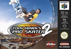 Jaquette de Tony Hawk's Pro Skater 2 Nintendo 64