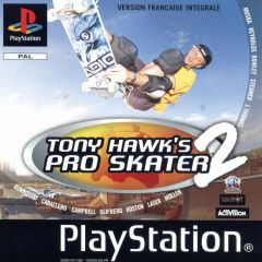 Jaquette de Tony Hawk's Pro Skater 2 PlayStation