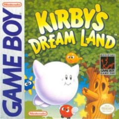 Jaquette de Kirby's Dream Land Game Boy