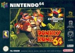 Jaquette de Donkey Kong 64 Nintendo 64