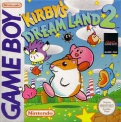 Jaquette de Kirby's Dream Land 2 Game Boy