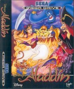 Jaquette de Aladdin Mega Drive