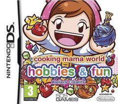 Jaquette de Cooking Mama World : Ateliers Créatifs DS
