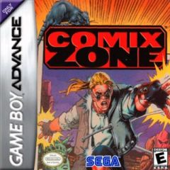 Jaquette de Comix Zone Game Boy Advance