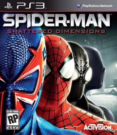 Jaquette de Spider-Man : Shattered Dimensions PlayStation 3