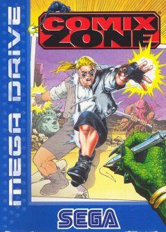 Jaquette de Comix Zone Mega Drive